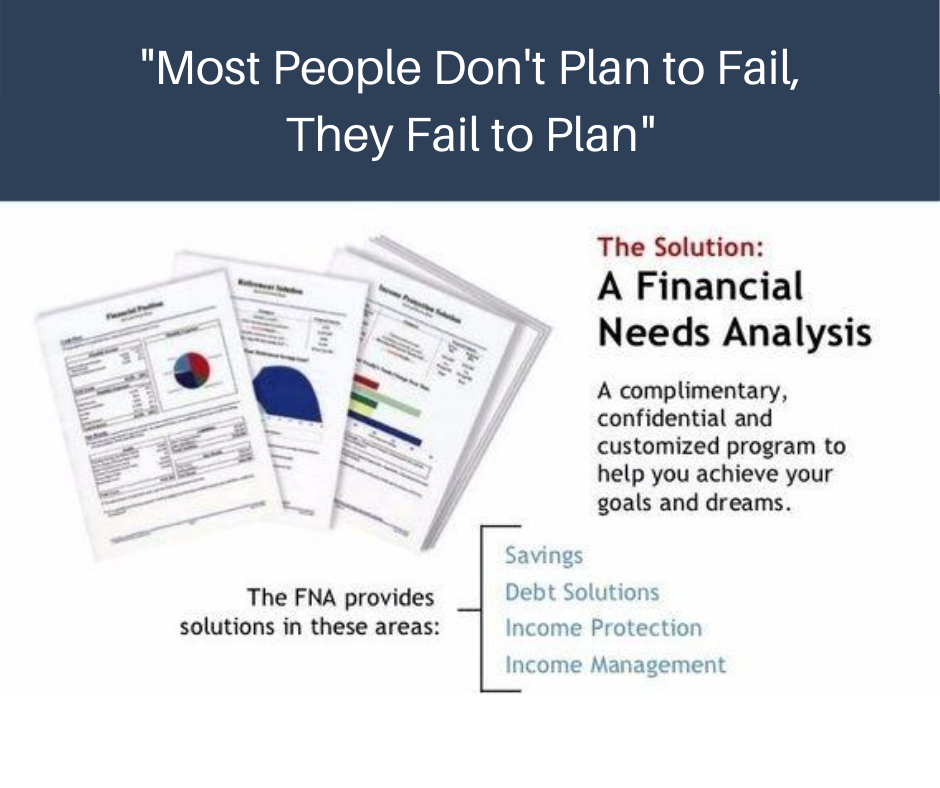 Financial Needs Analysis graphic explanation